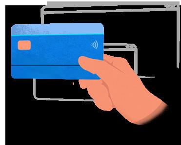 Websitez.cz | Ceník webu - Ilustrace kreditní karty